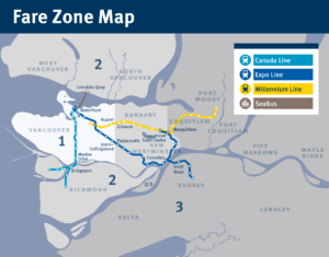 Vancouver Bus Fare Map Zone