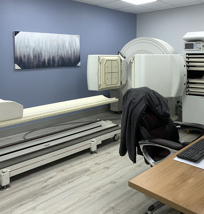 Nuclear Scan Room at AngelCare Medical Imaging