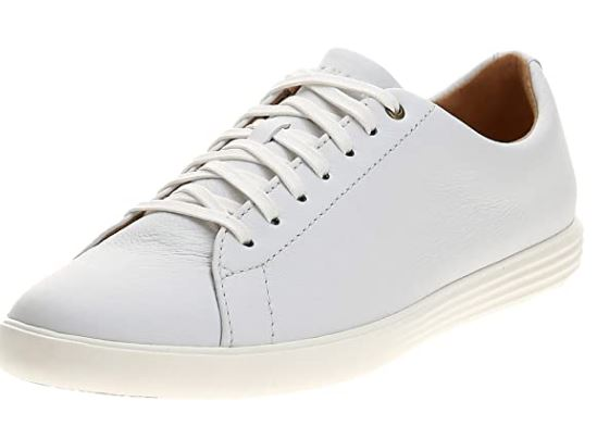 cole haan white leather shoes