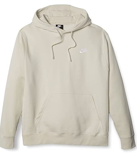 nike beige hoodie