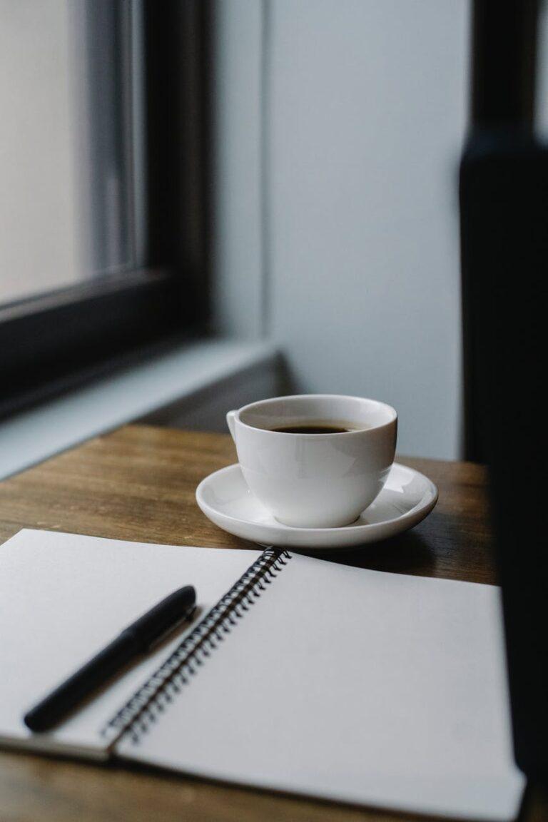 Morning Routine writing