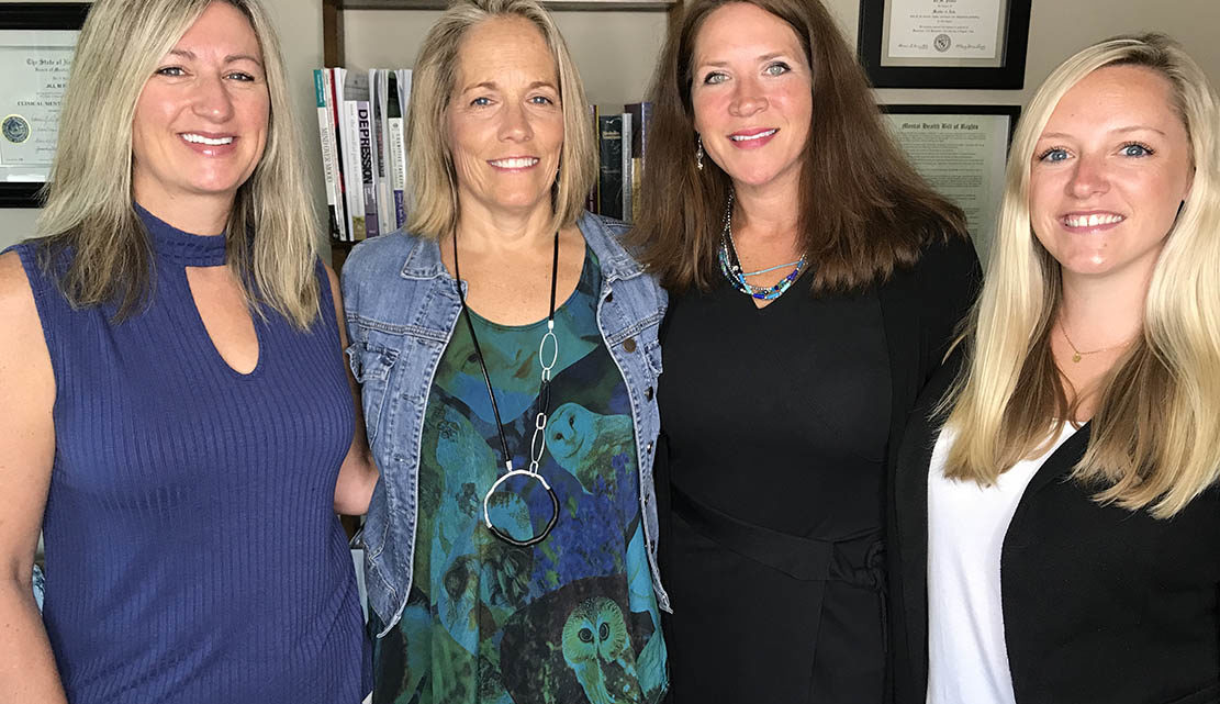 Right Weigh founders: Jill Plumer, Kim Dorval, Victoria Kirby and Jaclyn Fodor.
