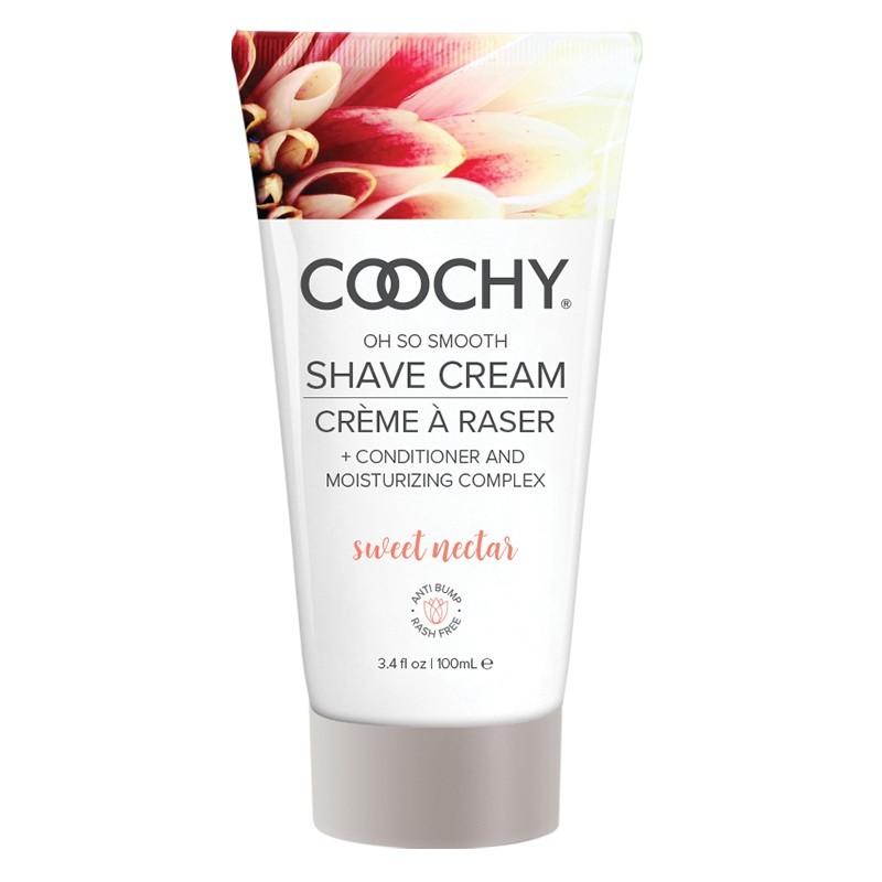 Coochy Shave Cream Sweet Nectar 3.4 fl.oz