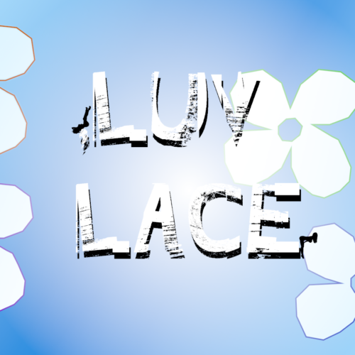 LUV LACE blue