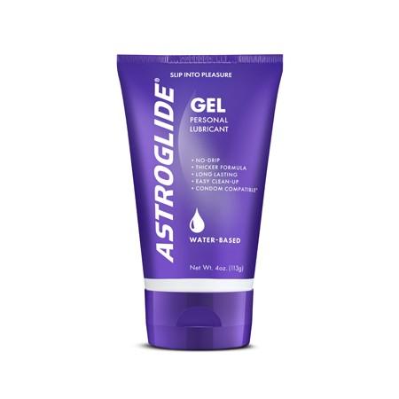 Astroglide Gel 4oz Tube Thicker Formula Water Based Lubricant
