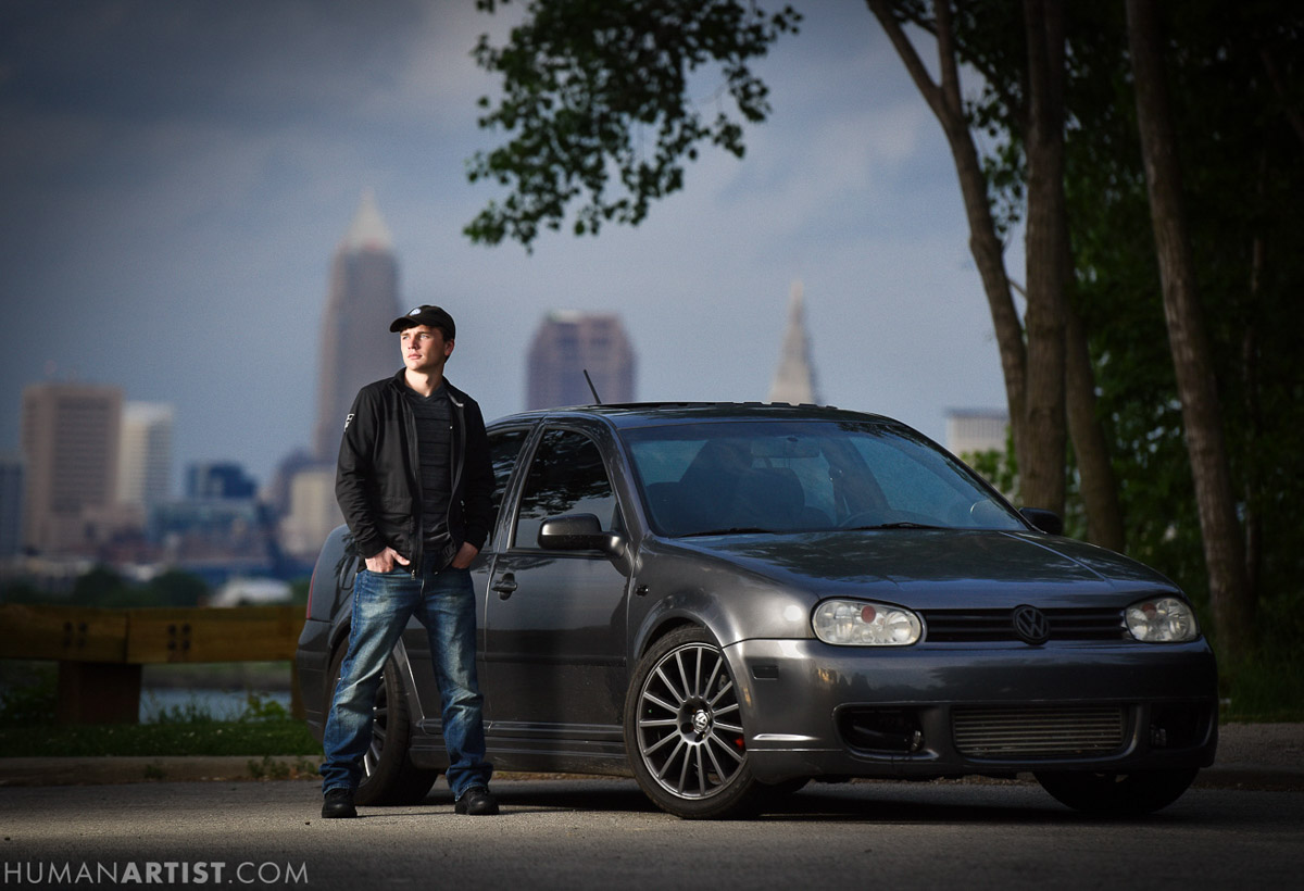 Senior Pictures in Clevelnd | Tom