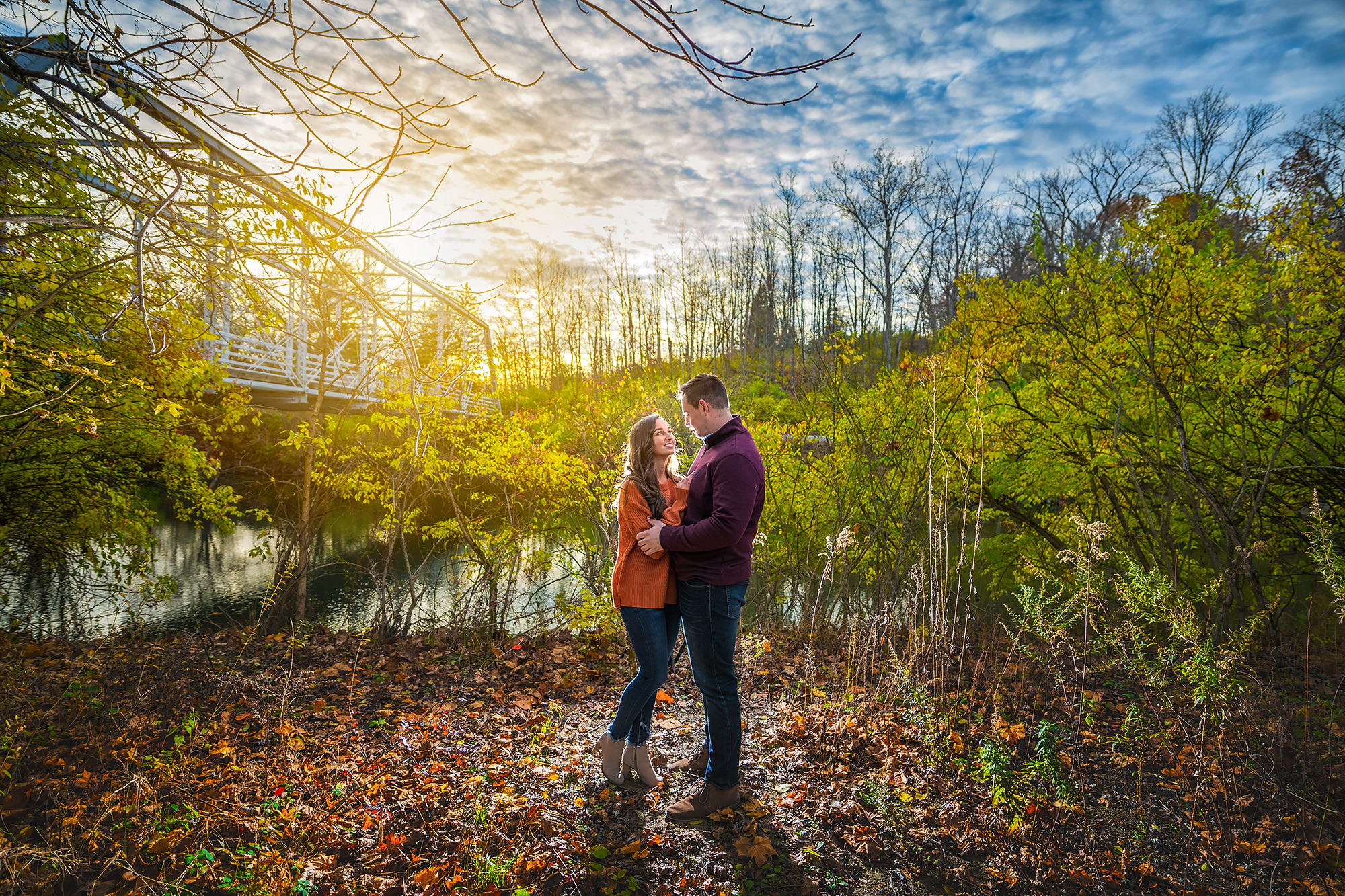Brecksville Reservation Engagement Session | Emily and Chris