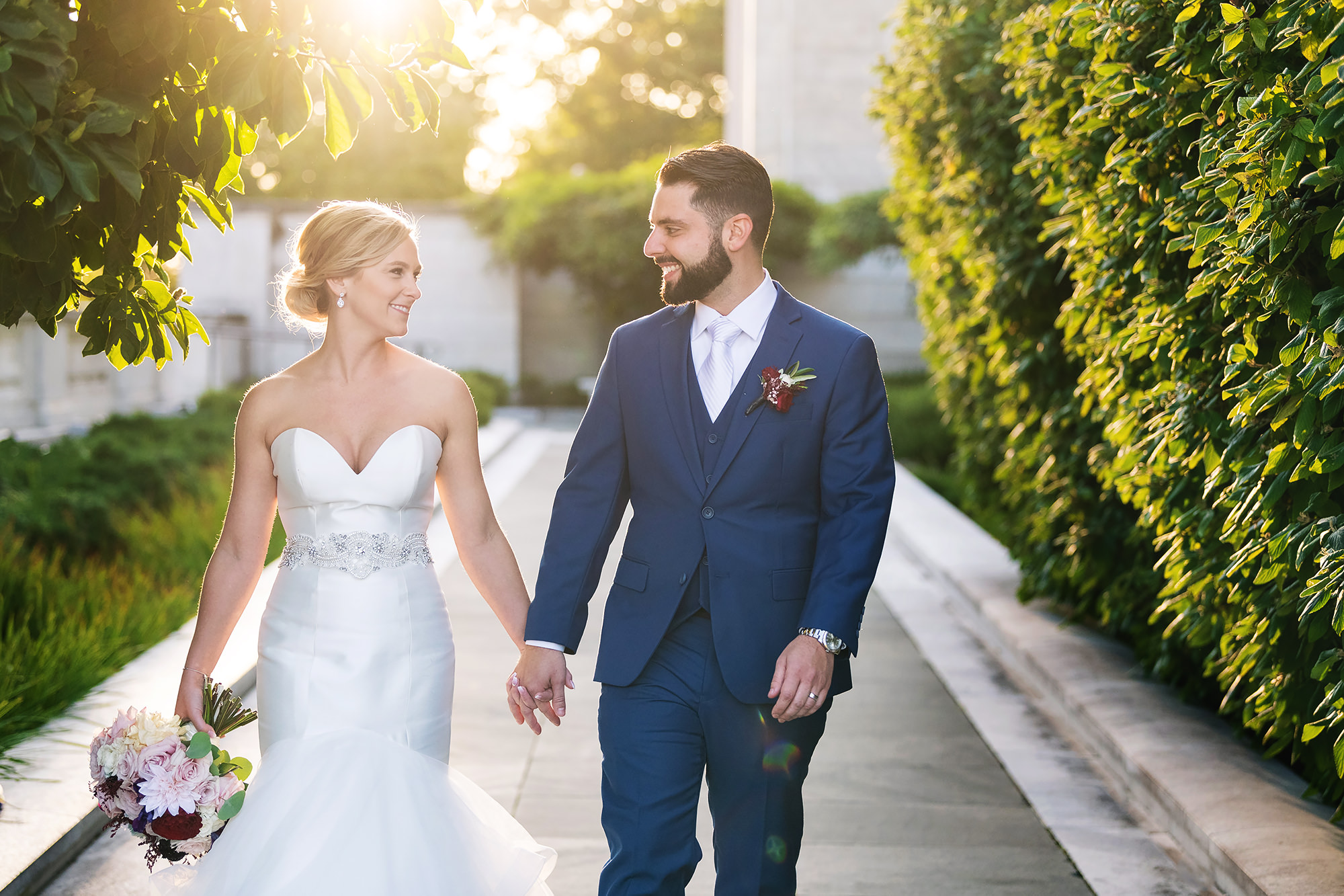 Cleveland Marriott Downtown at Key Tower Wedding | Amber and Dan