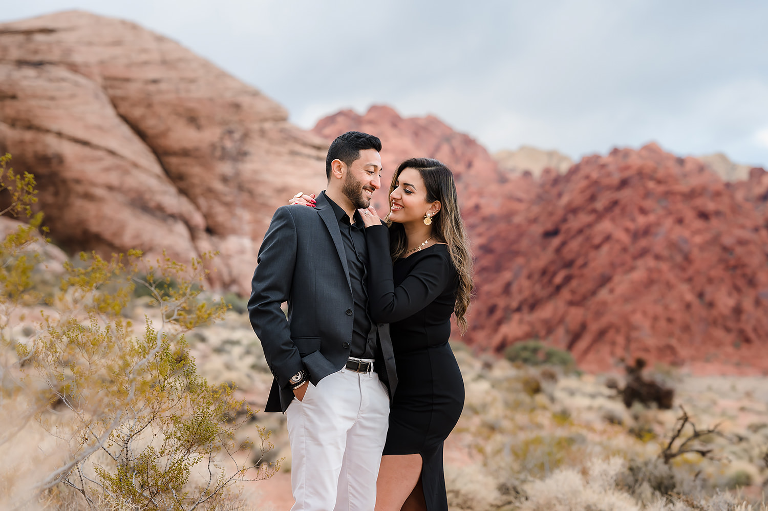 Las Vegas Nevada Engagement Session | Michael and Elaria