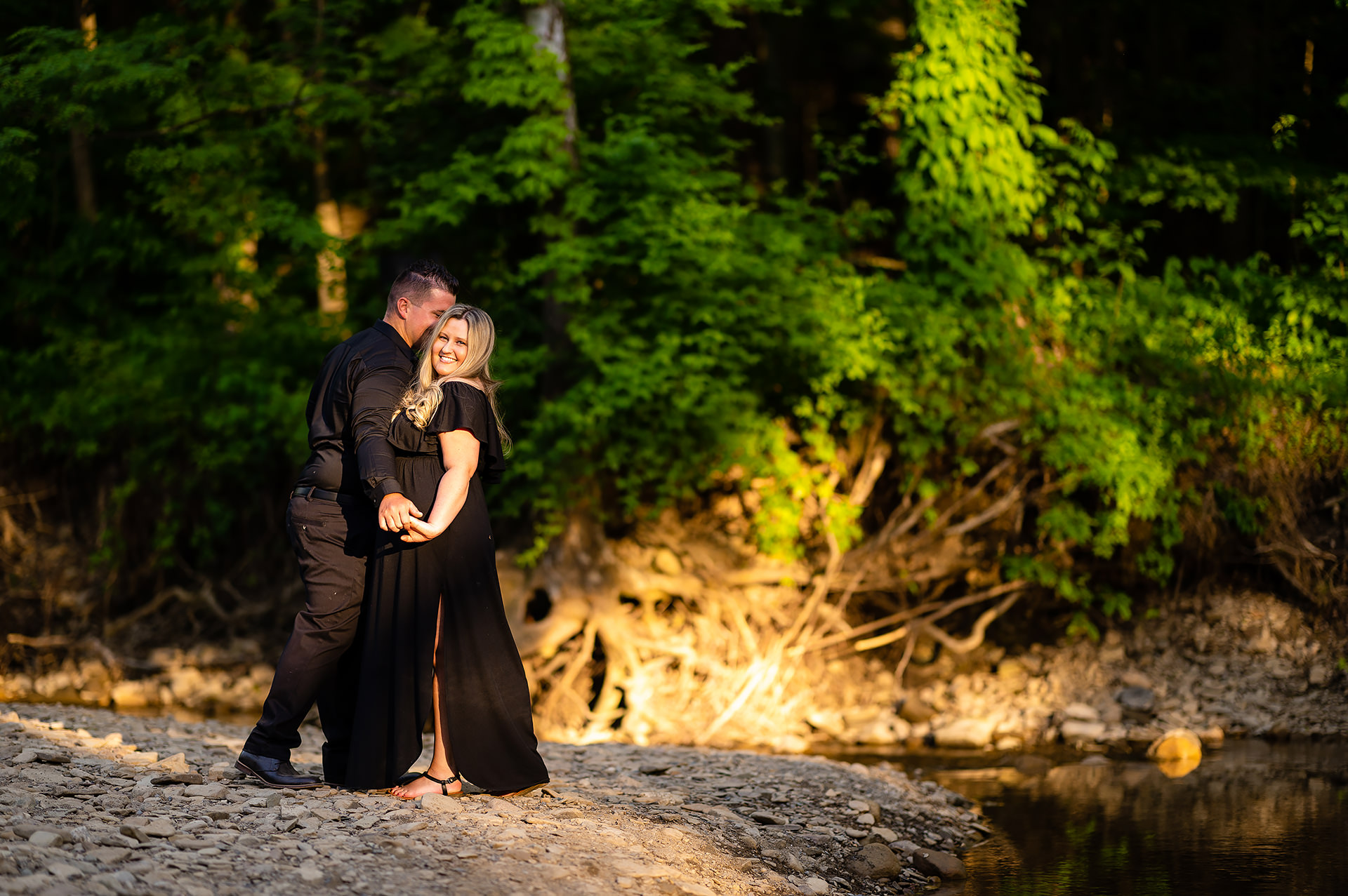 Brecksville Reservation Engagement Session | Olecia and Jim