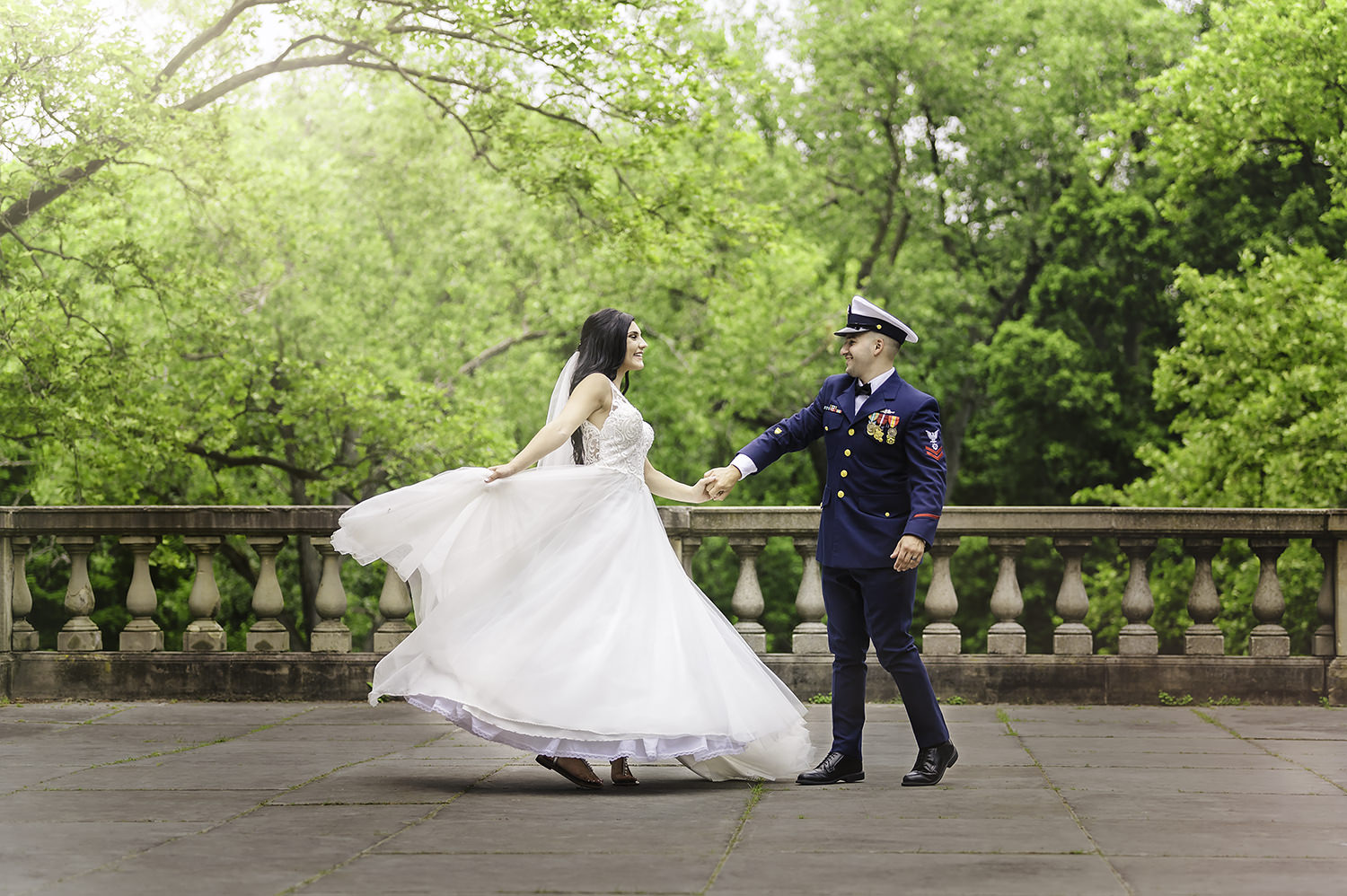 St. Charles Borromeo Collision Bend Wedding in Cleveland