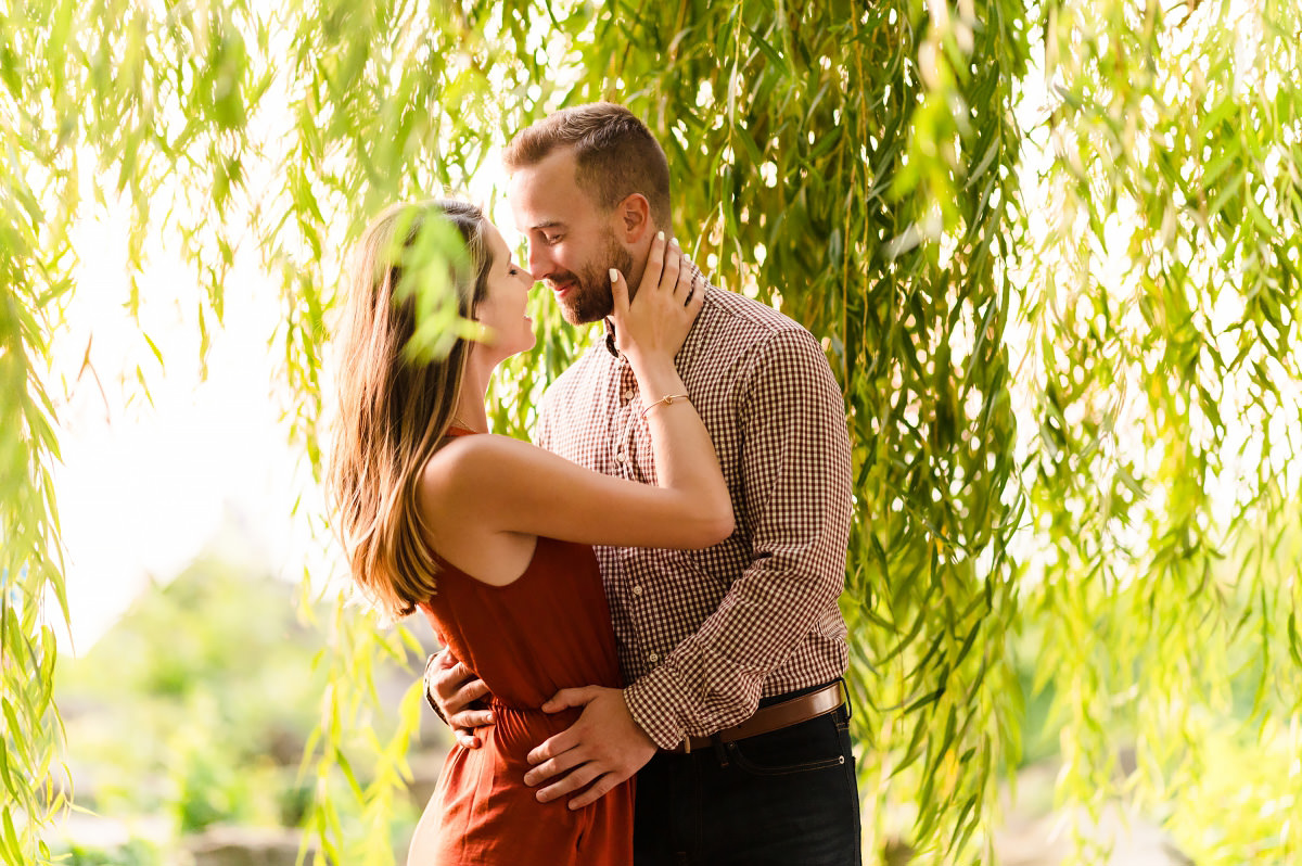 Downtown Cleveland Engagement Photos | Gina and Kyle