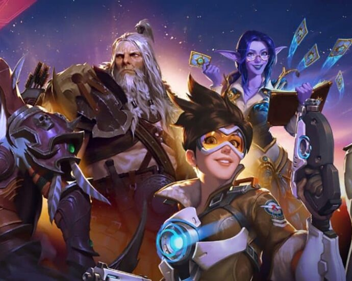 Characters from Blizzard Games