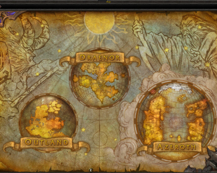 World of Warcraft world maps
