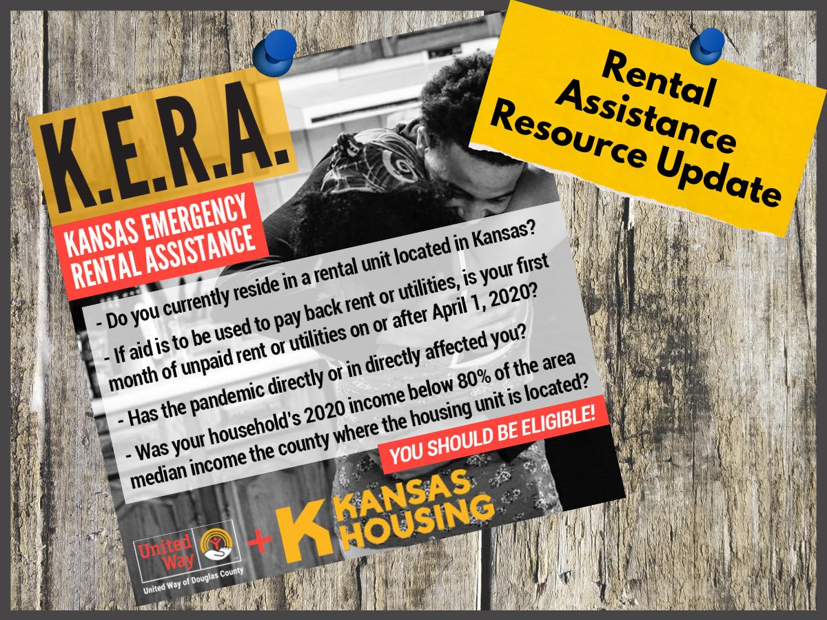 Kansas Emergency Rental Assistance infographic