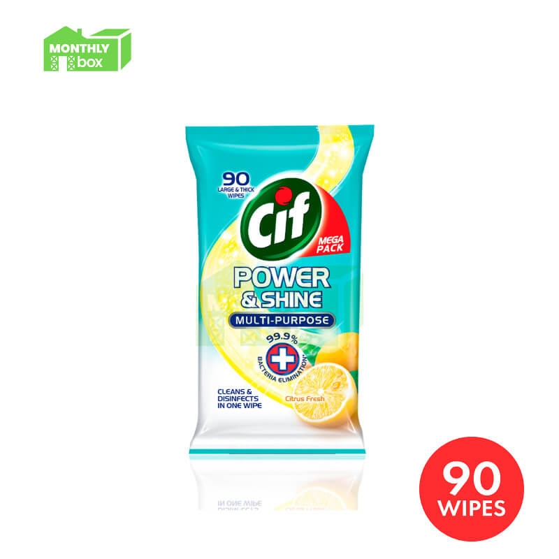 Cif Power & Shine Multi-Purpose Wipes