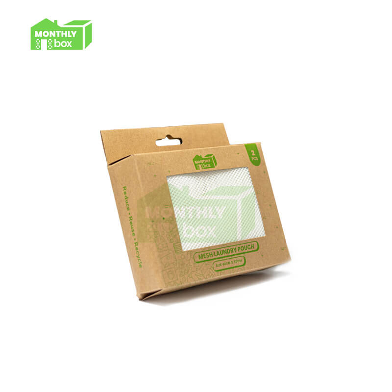 Monthly Box Mesh Laundry Pouch