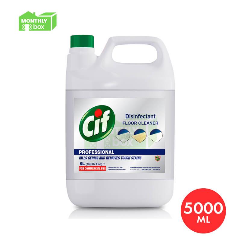 Cif Professional Floor Cleaner Disinfectant