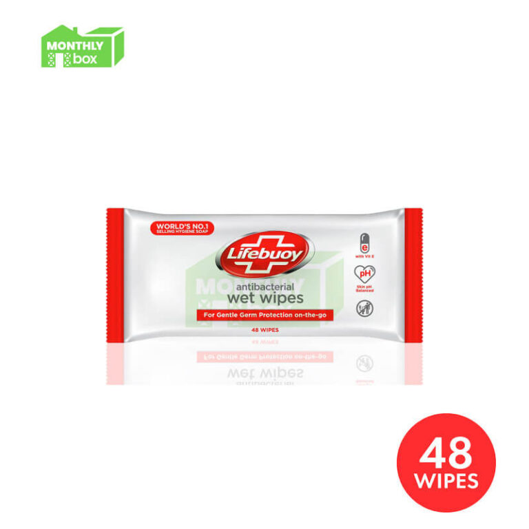 Lifebuoy Antibacterial Wet Wipes