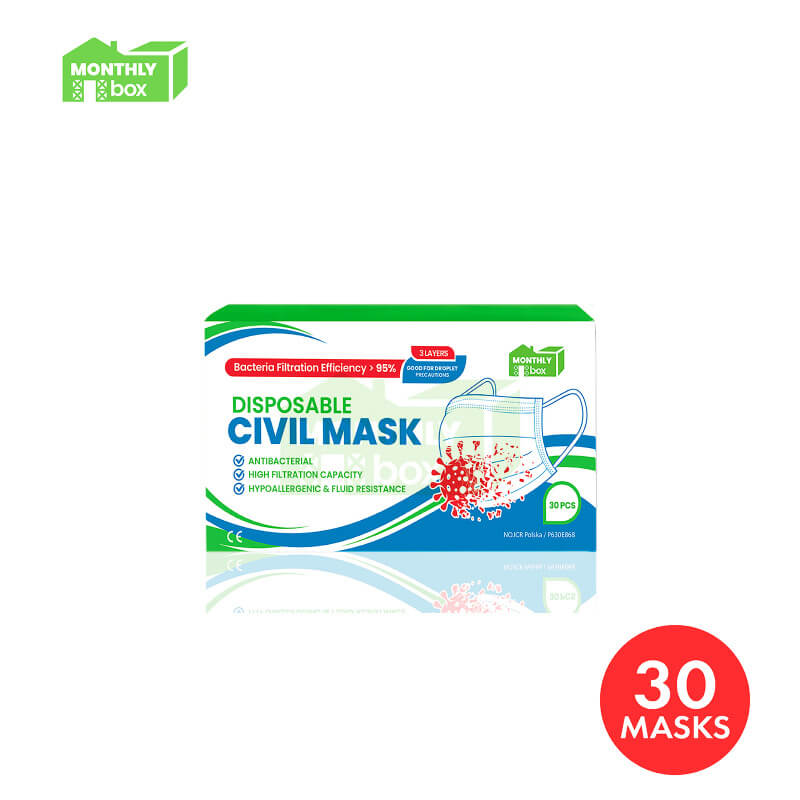 Monthly Box Disposable Face Mask