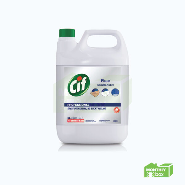 Cif Professional Floor Cleaner Degreaser (5.0 L)