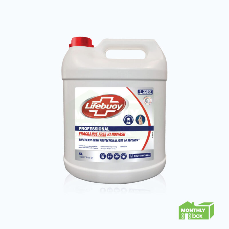 Lifebuoy Fragrance Free Handwash (5L)