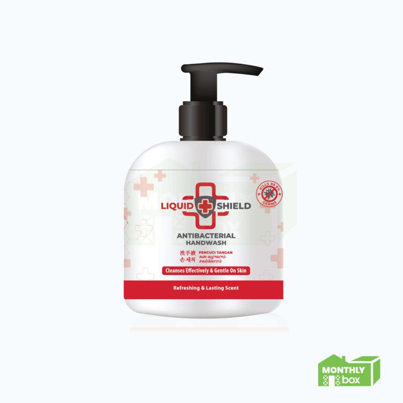 Liquid Shield Anti-bacterial Handwash (500ml)