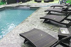 Decorative Concrete for the Pool