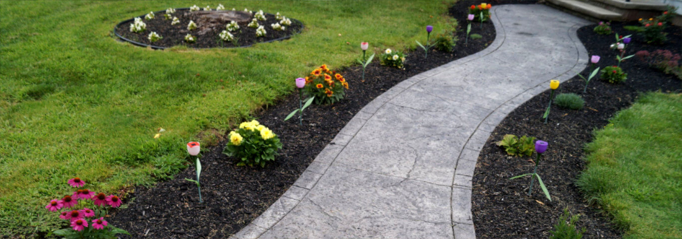 Stamped Concrete Driveways Rochester NY