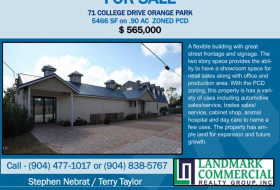 71 College Dr, Orange Park, FL Flyer
