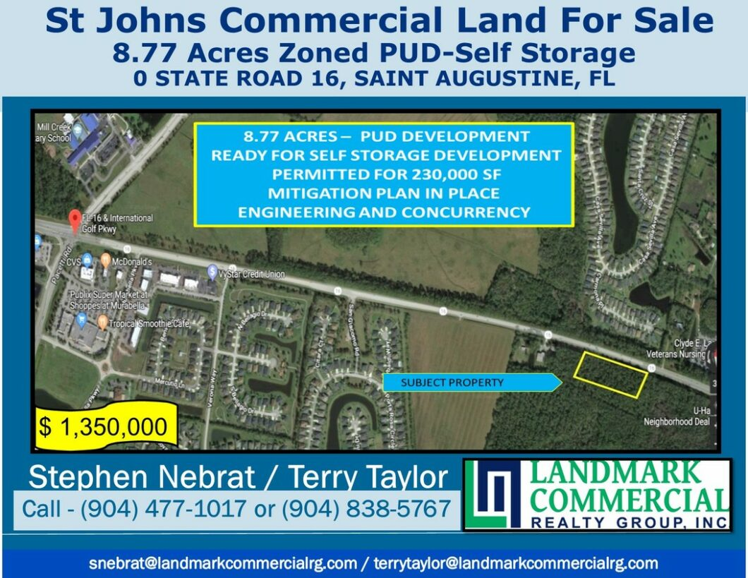 St Augustine Commercial Real Estate