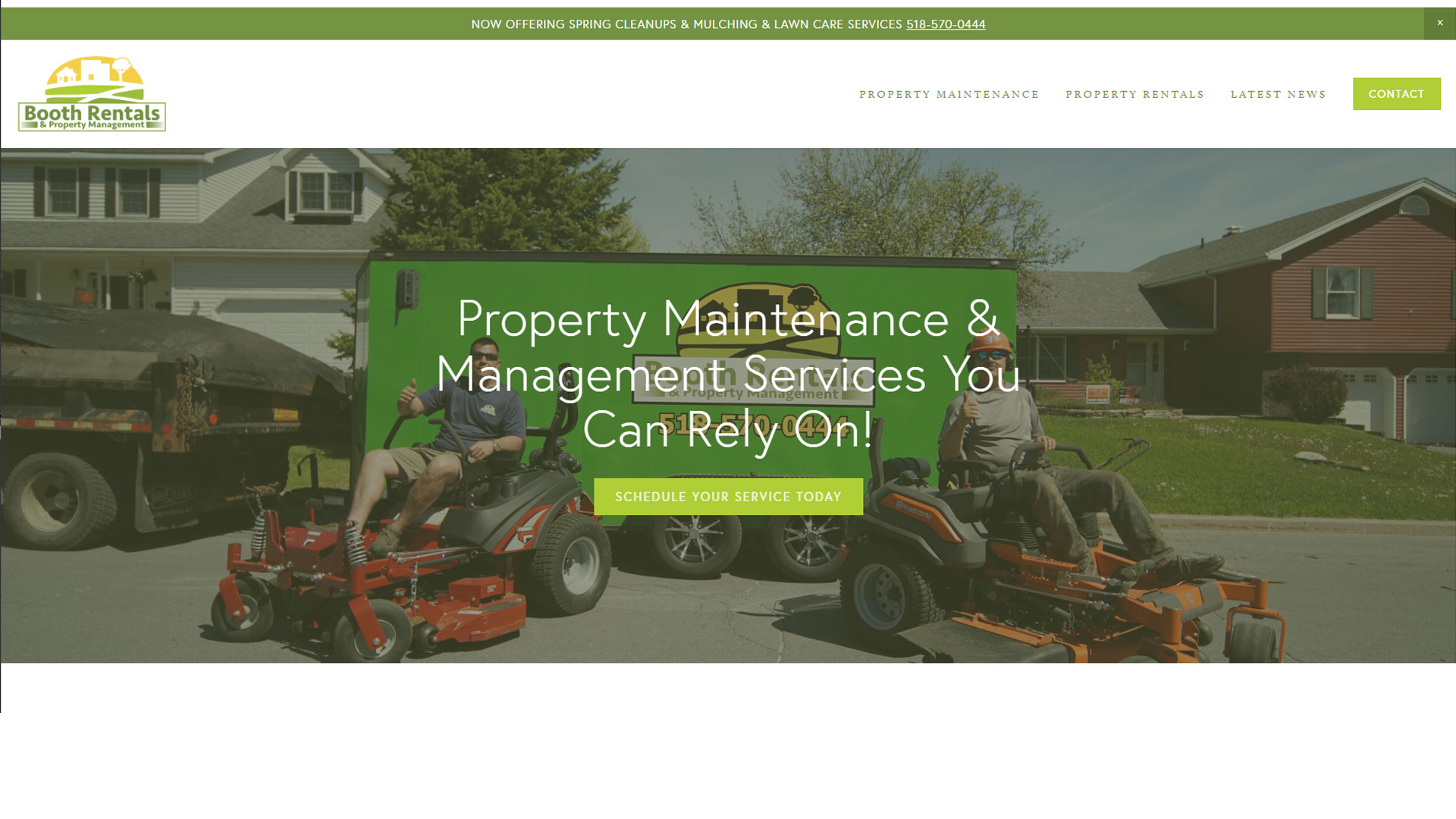 Booth Property Rentals and Property Maintenance