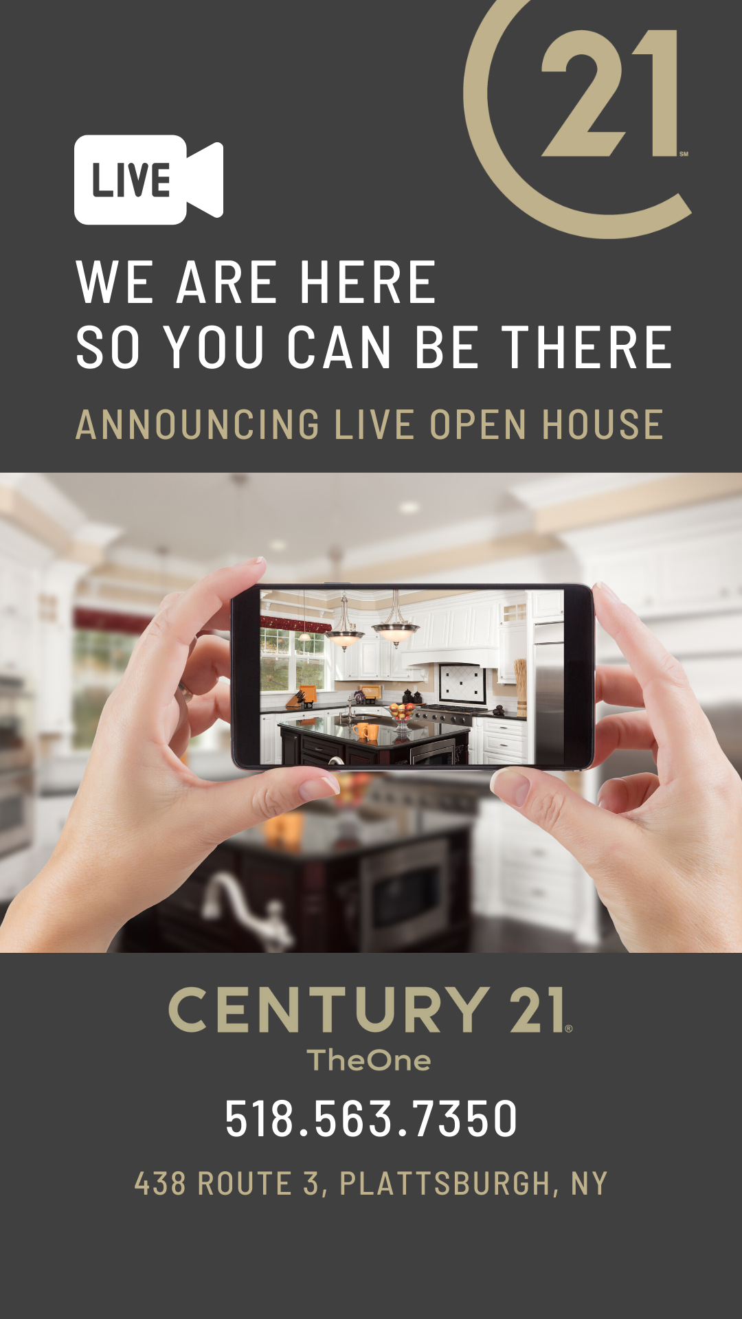 century 21 the one in plattsburgh live open house