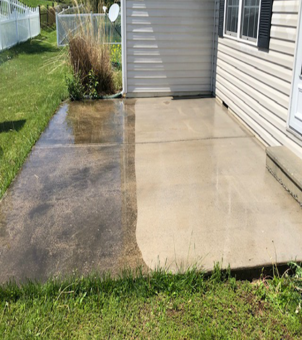 Best Time to Power Wash a House in Martinsburg, WV