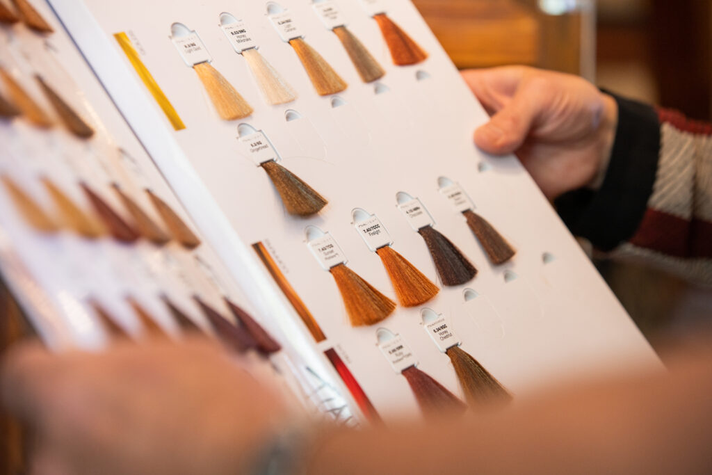 The Studio Hair Design Color Samples