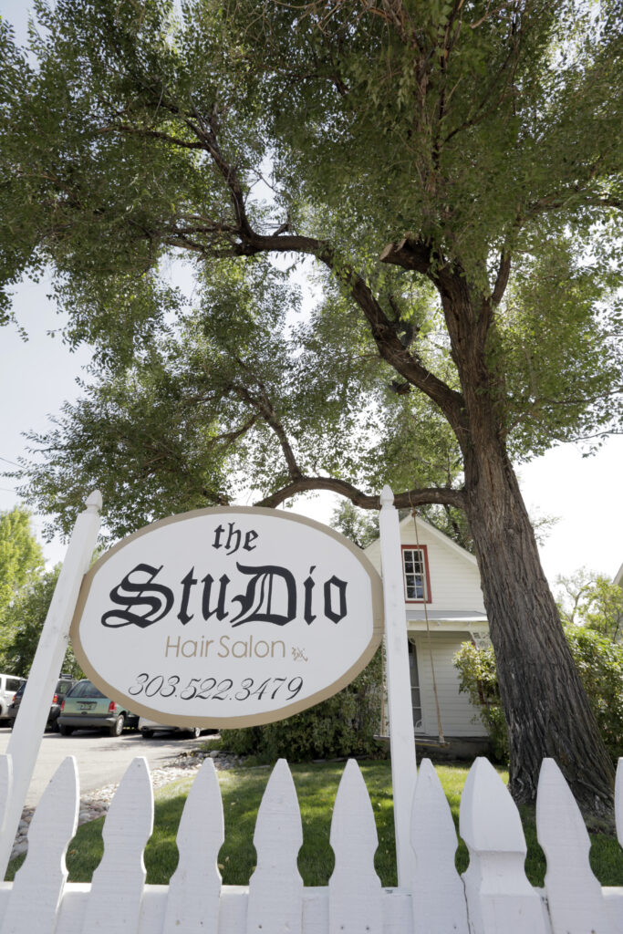 The Studio Hair Design Exterior