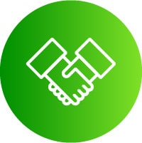 Icon of a handshake