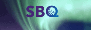 SBQ Logo on Northern Lights