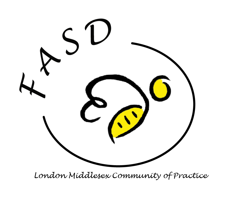 FASD - BUMBLE BLACK TEXT