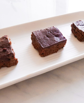 Best Gluten Free Vegan Brownies with Frosting Recipe