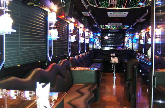 party bus christmas