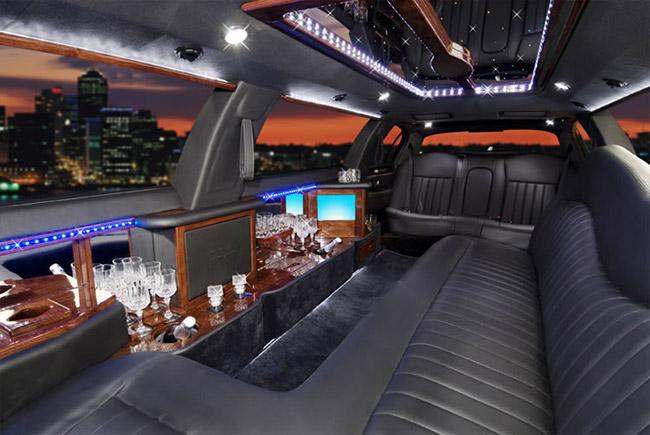 Lincoln Limo interior