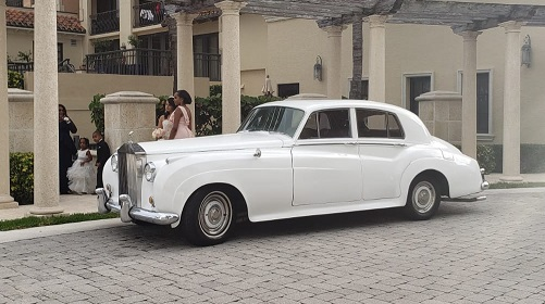 miami limo rolls royce