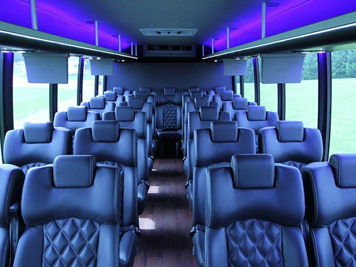 Mini Bus Interior