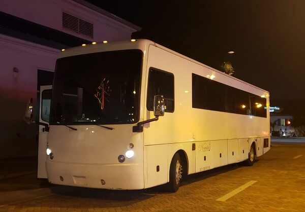bachelorette and bachelor party bus miami