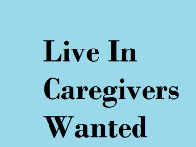 Work for live in caregivers in Yorba Linda, CA
