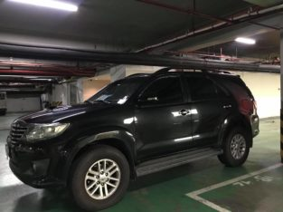 2014 Used Black Toyota Fortuner SUV