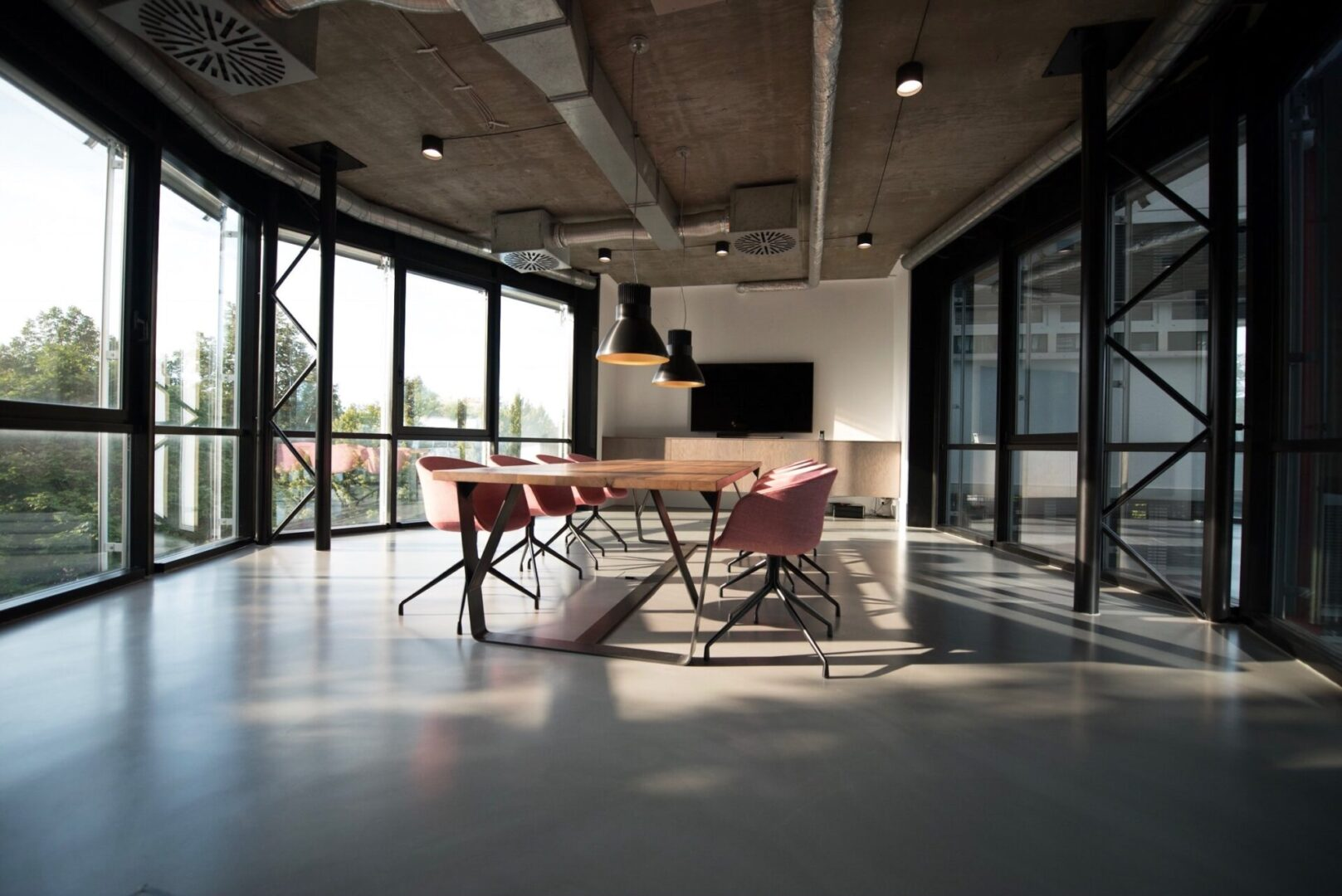 A clean office makes a great impression on your customers