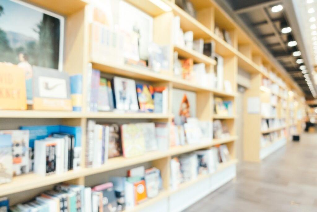 clean retail space