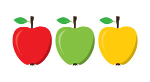Apple Vector Illustration Free Download, EPS, JPG